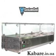 Витрина холодильная CustomCool CCSTG-1200