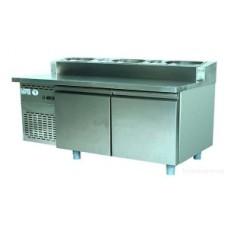 Стол холодильный Bolarus SCH-2 Inox PIZZA (190л)
