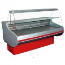 Витрина комбинированная Siena-П-0,9-1,0 ВС (гнутое стекло)