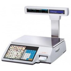 Весы с чекопечатью   CAS CL-5000J P/R