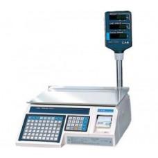 Весы с чекопечатью CAS LP-R