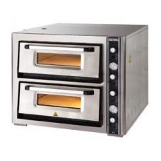 Печь для пиццы 2-х ярусная РО 6262DE с термометром (4+4 пиццы)