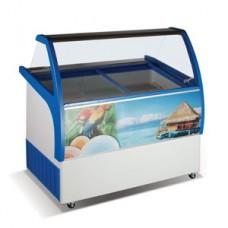 Ларь морозильный для мягкого мороженого CRYSTAL Venus Elegante 36 (9 вкусов)