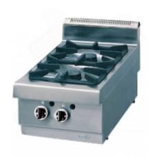 Плита газовая 2-х конфорочная настольная Ozti OSOG 8065 P