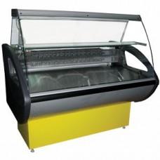 Витрина комбинированная Rimini-П-1,5 ВС (гнутое стекло)