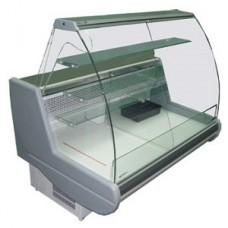 Кондитерская витрина Siena-К-1,1-1,5 ВС (гнутое стекло)